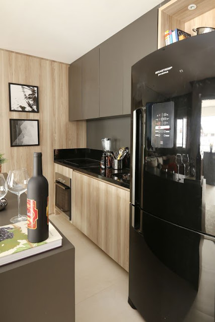 cozinha -com-armarios-em-duas-cores-