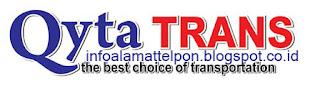 alamat kantor qyta trans travel