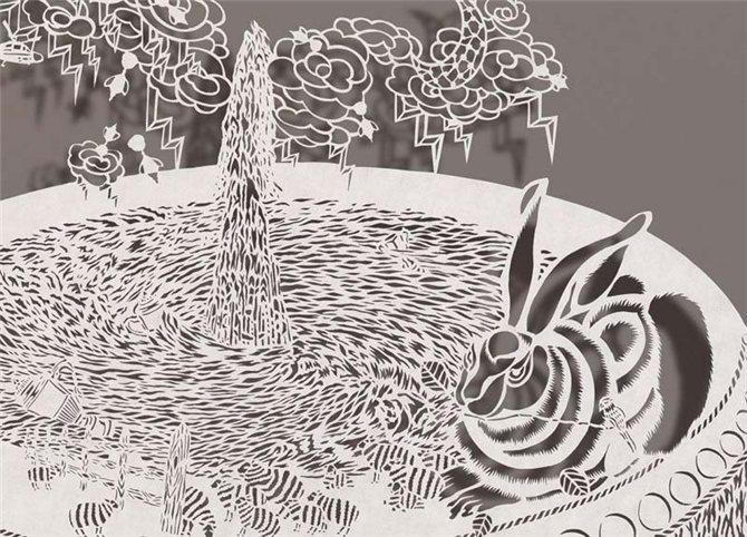 Картины из рисовой бумаги, Bovey Lee