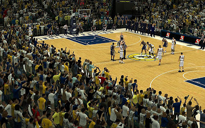 NBA 2K13 Indiana Pacers Crowd Fix Patch