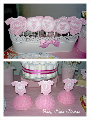 baby shower princesas
