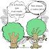 A rede de comunicação das Árvores