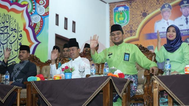 Ajak Masyarakat Cintai Al Quran, Sukandar Buka MTQ Tebo Tengah