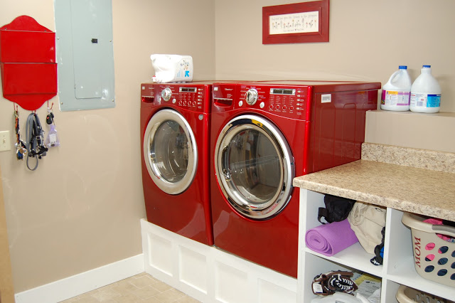 Washing And Dryer Stand