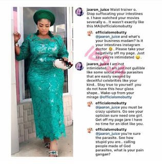 Actress, Biodun Okeowo Insults Fan Who Attacked Her of Using Waist Trainers