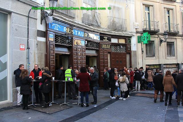 Casa Labra restaurant, Puerta del Sol, Madrid, Spain