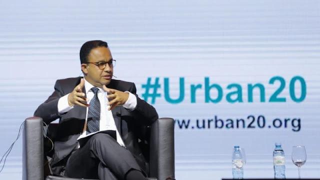 Berbicara di Urban 20 Argentina, Anies Dapat Gelar Tamu Kehormatan