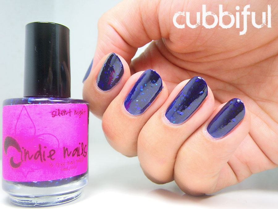 swatch jindie nails silent night
