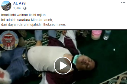 Video Korban Pipel Powe di Jakarta, Na Roh Ureung Aceh dari Dayah Darul Mujahidin Lhokseumawe