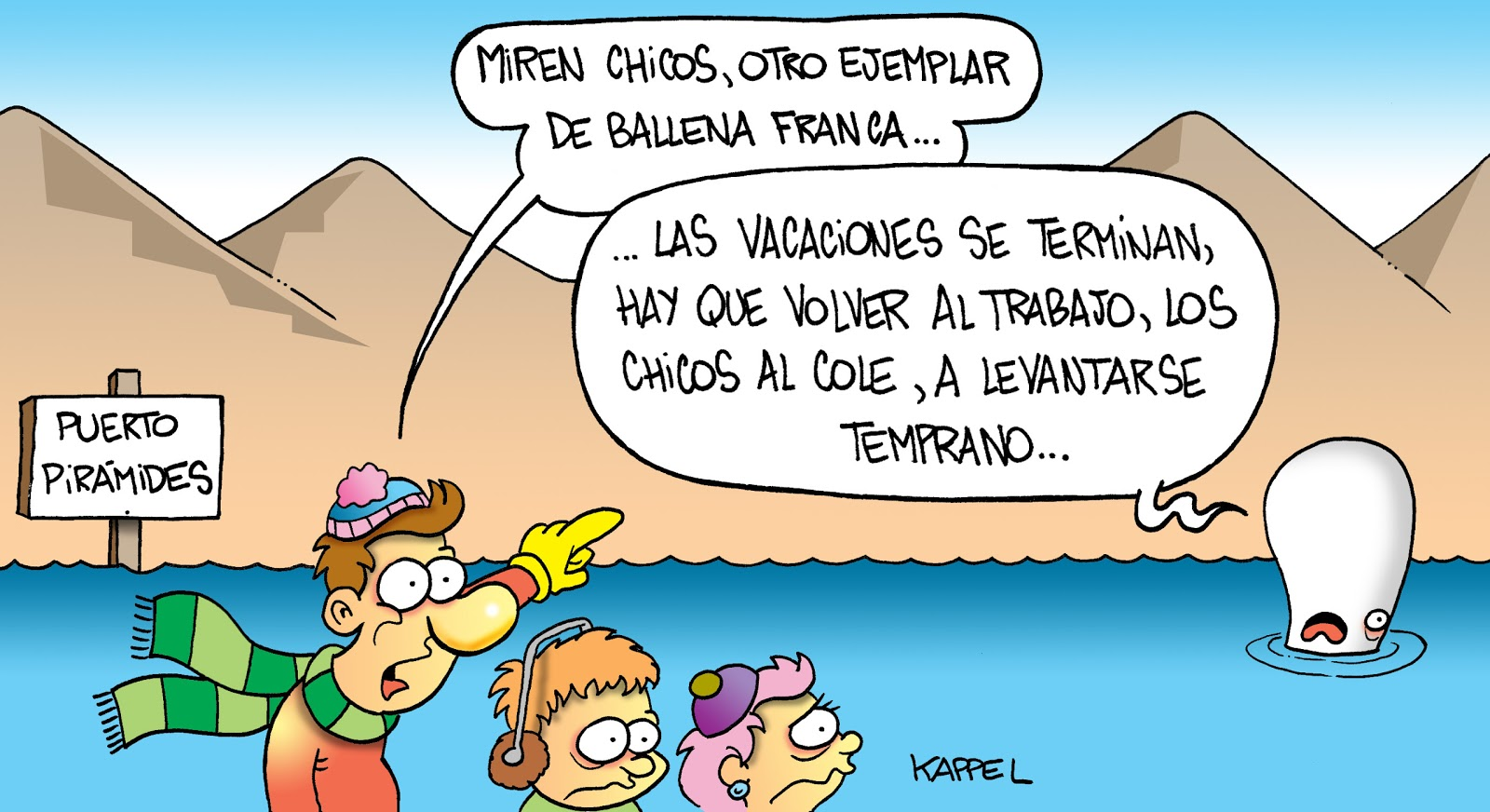 HUMOR BLOGRÁFICO DE KAPPEL: Humor En Rumbo Familiar