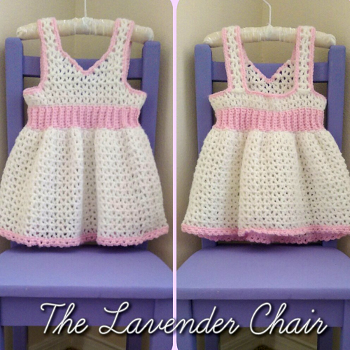 My First Birthday Dress (12-18 months) - Free Pattern