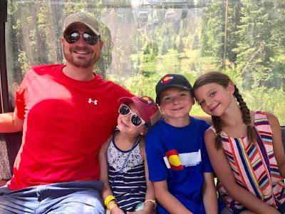 Breckenridge gondola ride to Peak 8