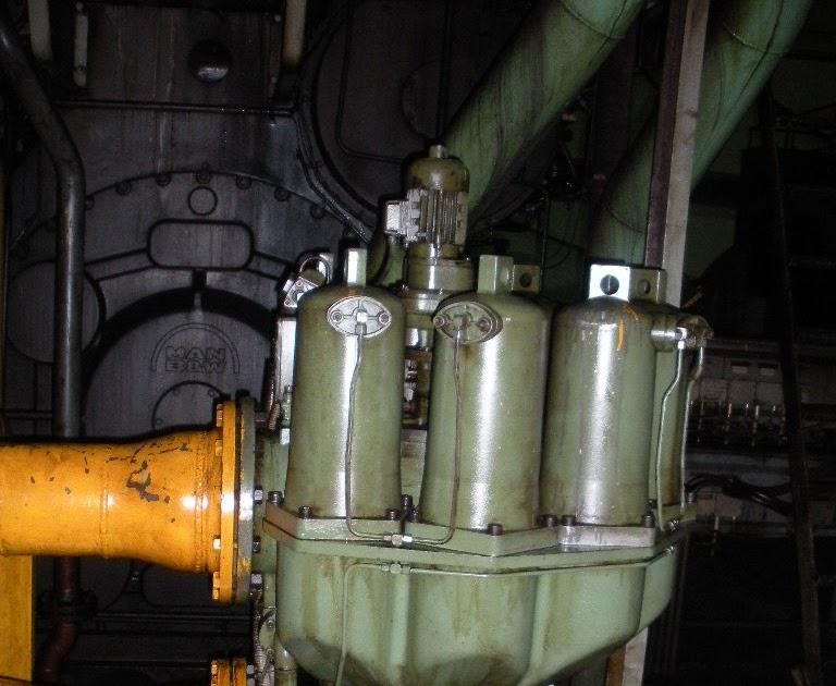 LO auto backwash filter - HFO POWER PLANT