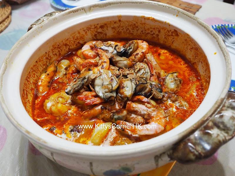 Seafood in Curry DIY recipe 咖喱海鮮煲 自家食譜