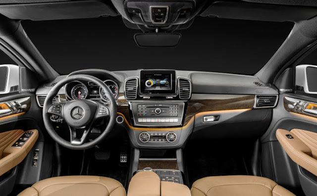 Mercedes GLE 400 4MATIC Coupe trang bị đầy đủ tiện ích, công nghệ hiện đại