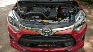Động cơ mạnh mẽ 1.2 Toyota Wigo