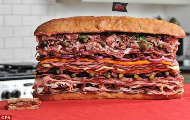 Best Sandwich Man Vs Food