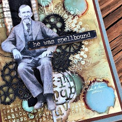 Sara Emily Barker http://sarascloset1.blogspot.com/ He Was Spellbound Alcohol Lift Ink Inventor 1 Gear Head Halloween 5