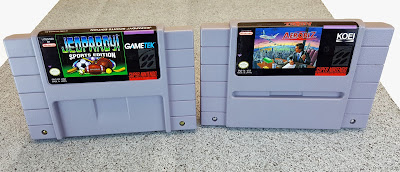 I was kindly donated these US carts along with a console by a YouTube viewer... thanks!