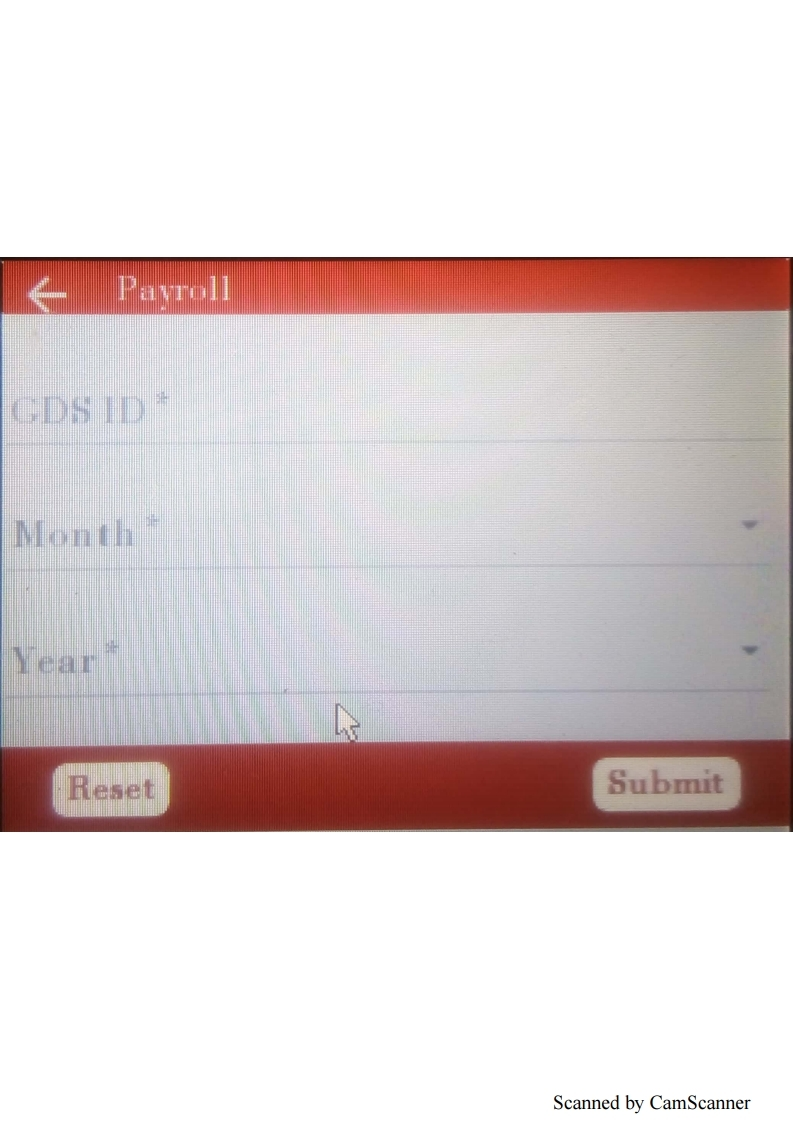 How to Generate PAY Slip In RICT Device