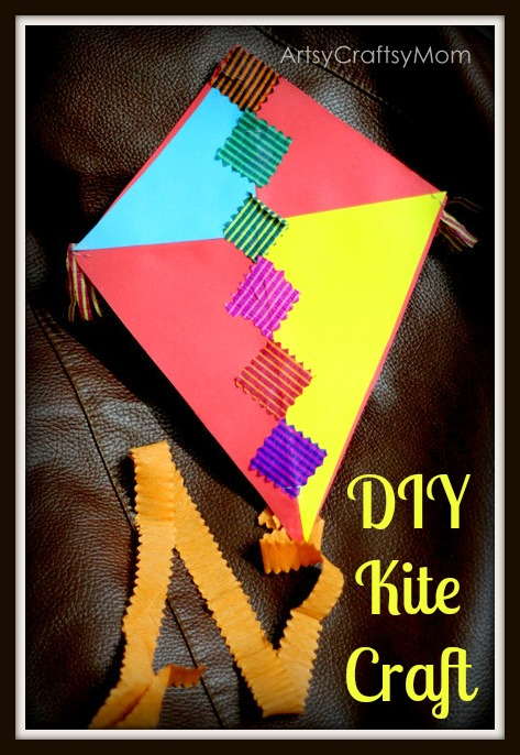 Sankranti Kite Craft Artsy Craftsy Mom
