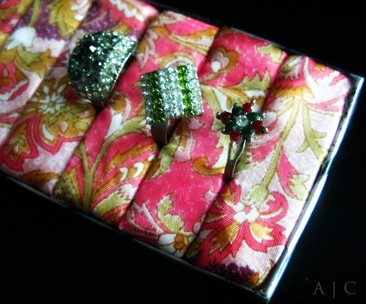 Matchbox Ring Organizer ~ Alternate Creations