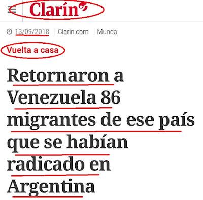 Frente al modelo de cambiemos prefieren volver a venezuela