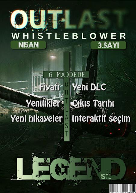 Outlast Oyun Dergi Kapağı Tasarımı