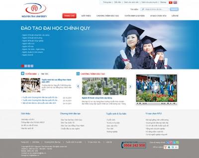 Thiết kế website giáo dục-mục tiêu phát triển cho các trường học