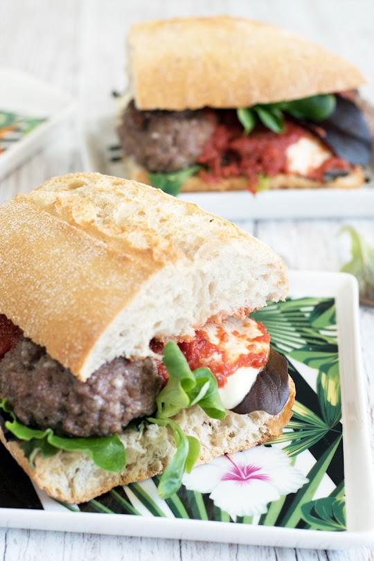 recette Sandwich boulettes de boeuf