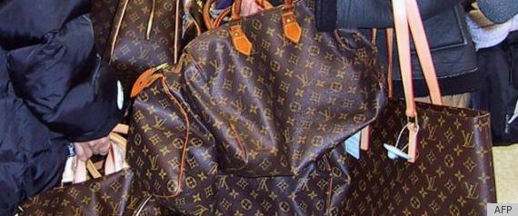 JESTINA GEORGE: LOUIS VUITTON BAGS STOLEN FROM PARIS CHARLES