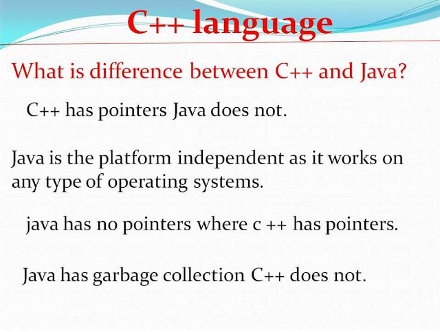 Difference between Java and C++ constructor