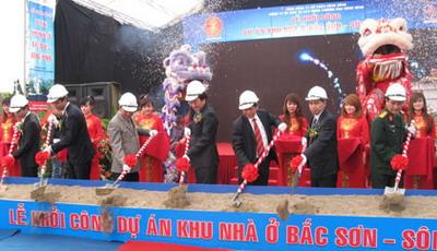Dự án Bắc Sơn - Sông Hồng được khởi công vào tháng 12/2016