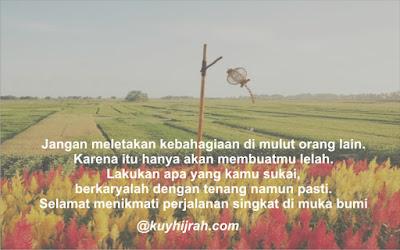 Quotes Bahagia Kuyhijrah