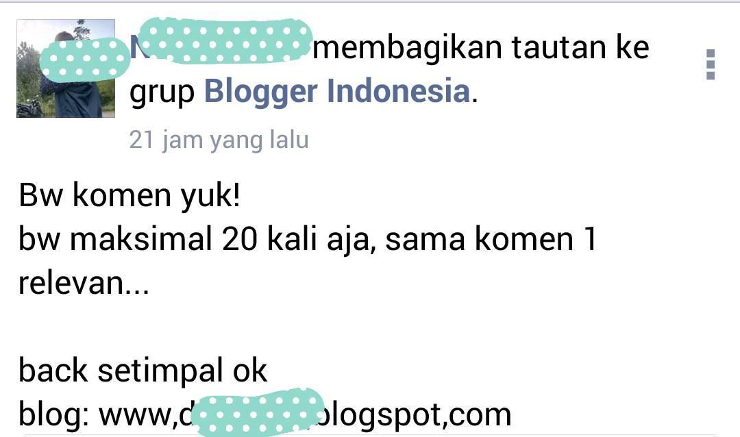 Blogwalking Ala Blogger Kidz Zaman Now
