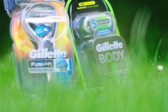 Zeit für ein neues Frischegefühl. Ein Frische-Kick von Gillette.