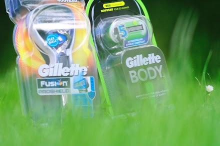 Männers, hier kommt das cool and fresh Sommer-Duo von Gillette