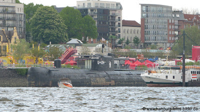 Hafenrundfahrt Hamburg Uboot U-434