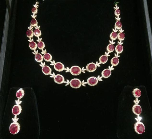 Diamond Set by Pavan Mor Jewellers