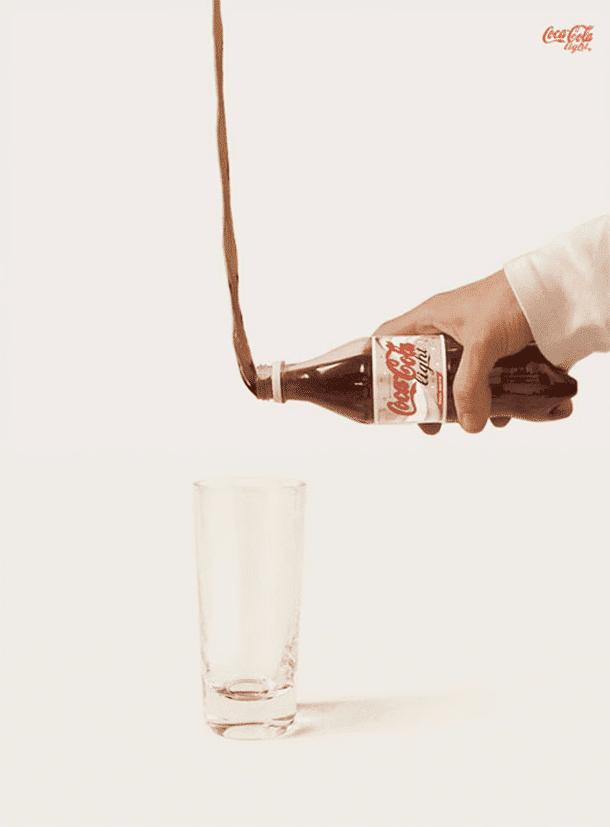 Leve mesmo é Coca Cola light