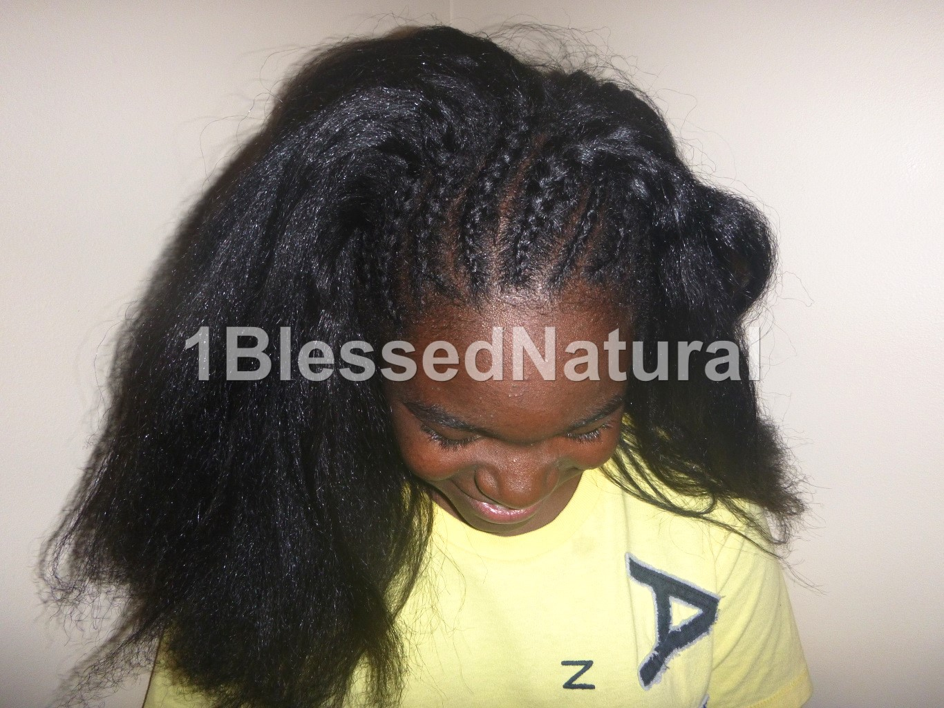 1bn Kids Big Sister Natural S Cornrows And French Braid Styles