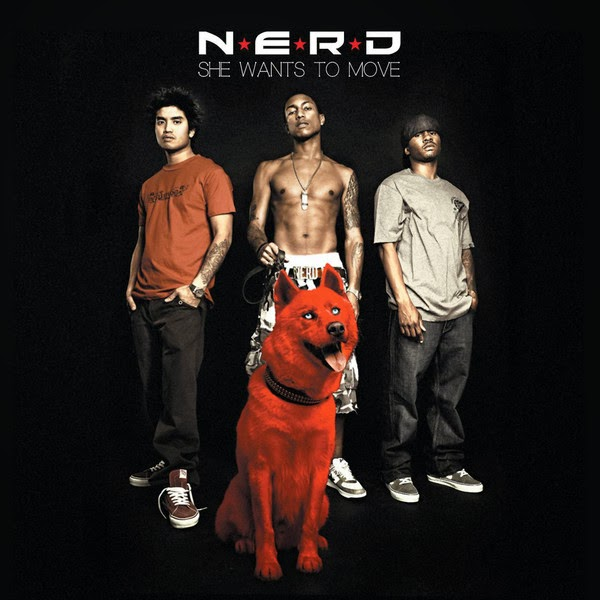N.E.R.D - She Wants to Move - Single Cover