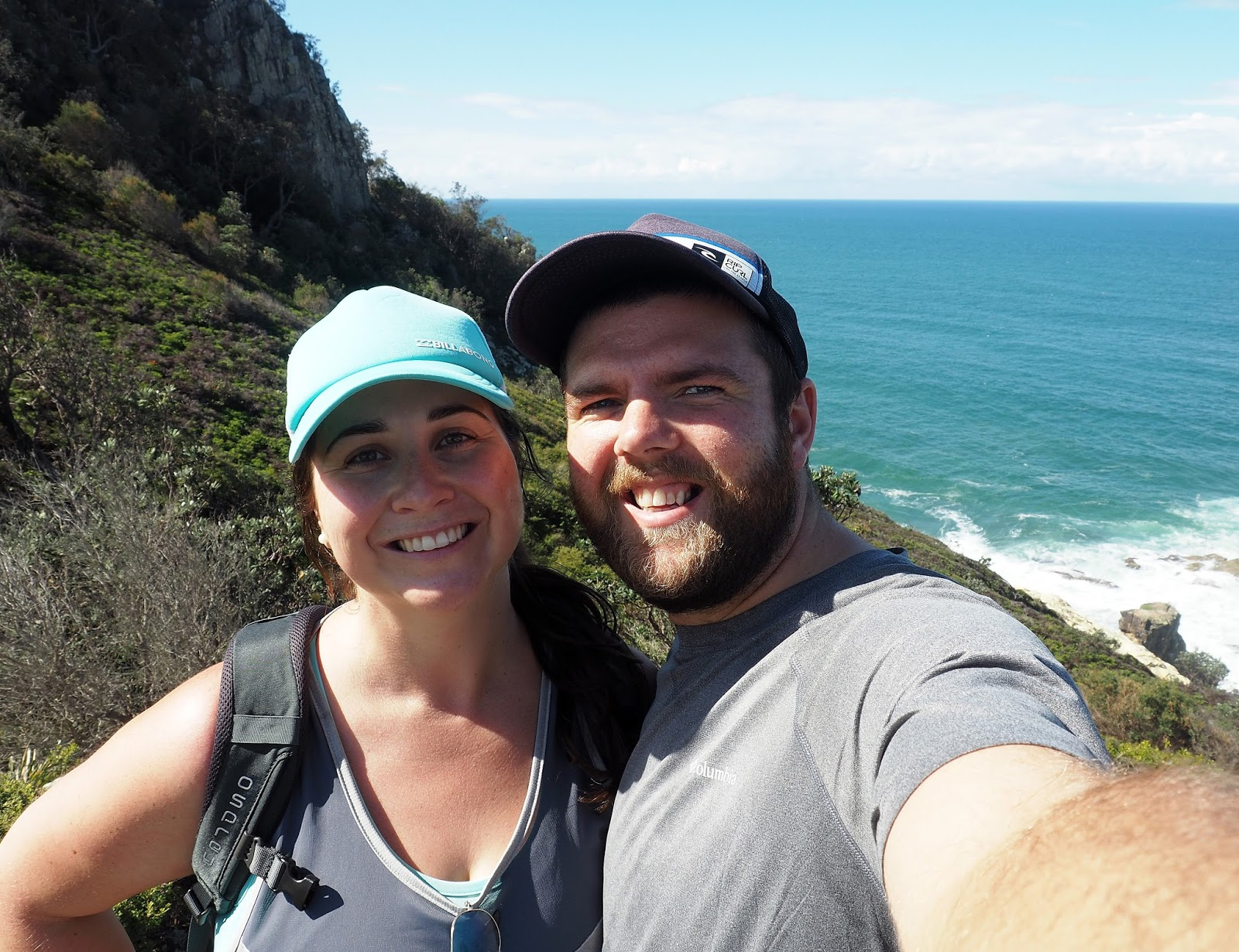 Couple on Diamond Head Loop Walk