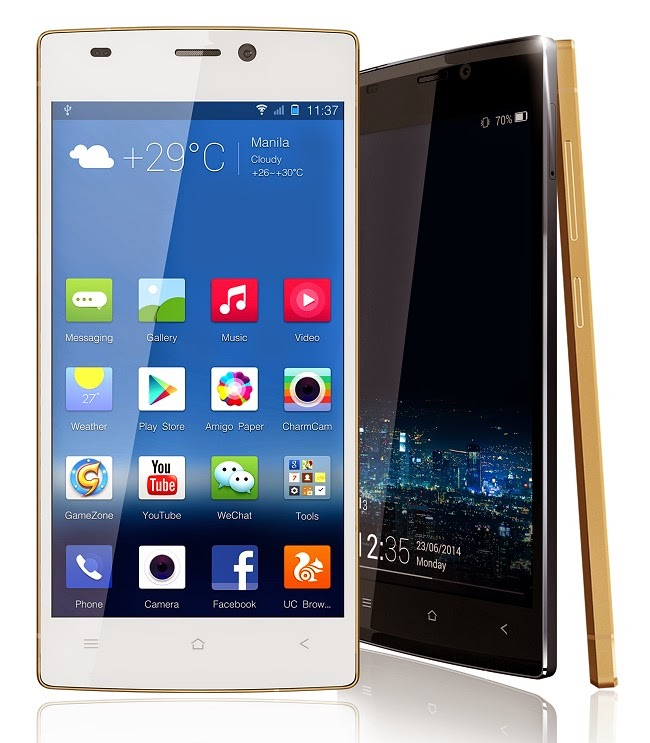 World Slimmest Smartphone 2014 Official Gionee ELIFE S5.5 Specifications Review