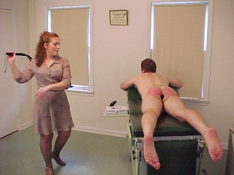 Spanked with a erection xxx image hot