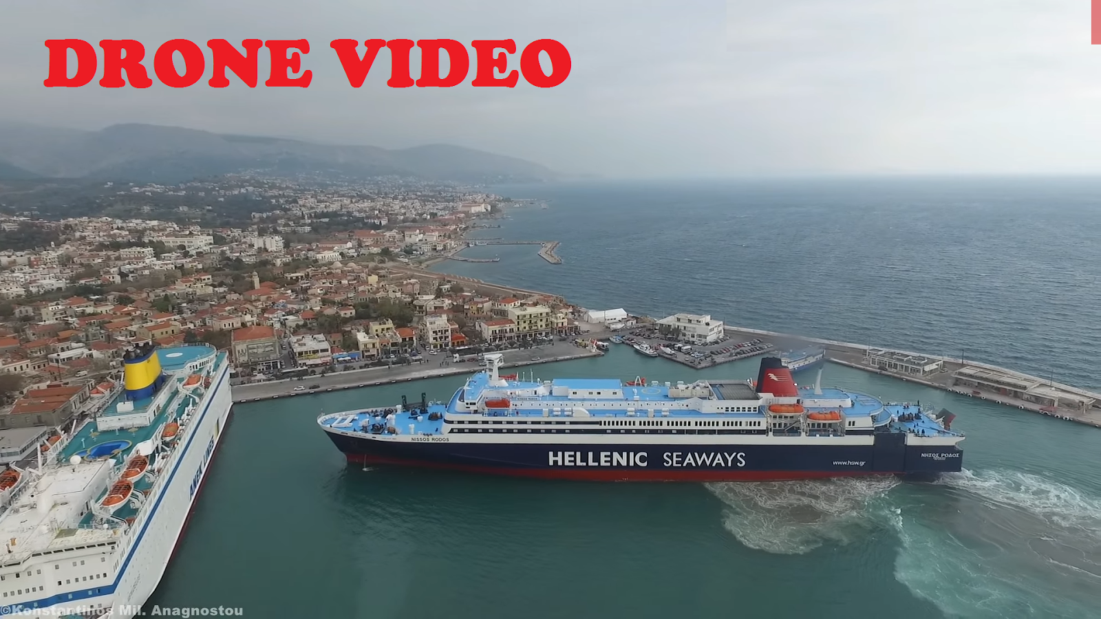 DRONE VIDEO: Mediterranean Mooring Done In Style