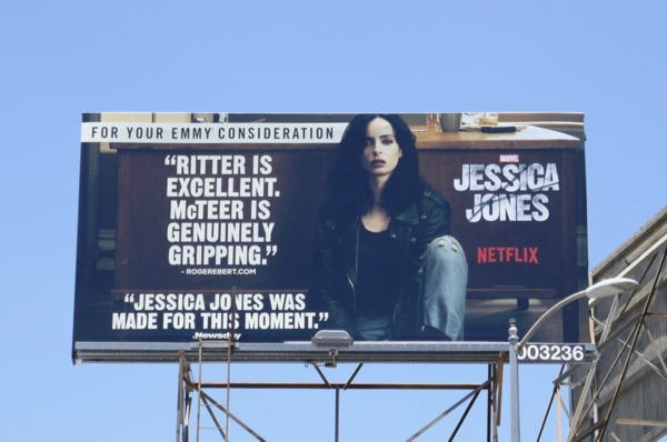 Jessica Jones season 2 Emmy FYC billboard