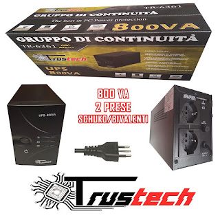 UPS TRUSTECH 800VA TR-6361
