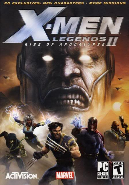 X Men Legends 2 El ascenso de Apocalipsis PC Full Español