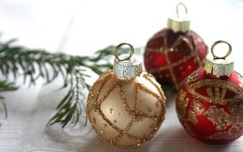 Wallpaper: Christmas Ornament